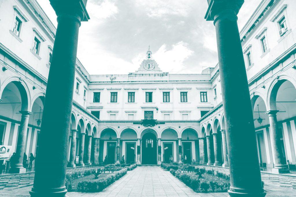 Innenhof der Universität
